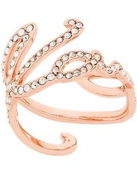Karl Lagerfeld - Karl Signature Ring - Lyst