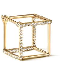 Shihara Diamond Square Earring 10 (03) - Многоцветный