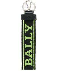 Bally Брелок С Логотипом - Зеленый