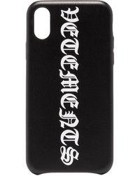 Vetements - ロゴ Iphone Xs ケース - Lyst