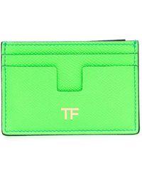 Tom Ford カードケース - グリーン
