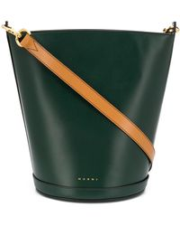 Marni Depot Bucket Bag - Green