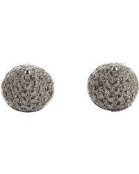 Elise Dray - Diamond 'mini Muse' Earrings - Lyst