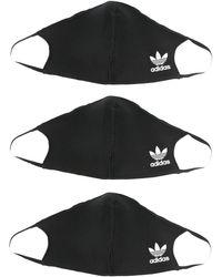 adidas Masque à logo - Noir