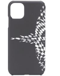 Marcelo Burlon Wings Iphone 11 ケース - ブラック