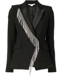 Veronica Beard Crystal-embellished Single-breasted Blazer - Black
