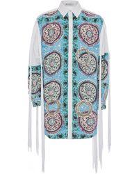 JW Anderson Hemd mit Paisley-Print - Blau