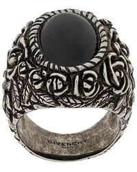 Givenchy - Floral Cocktail Ring - Lyst