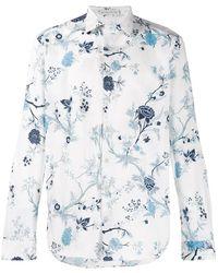 Etro Camisa con motivo floral - Blanco