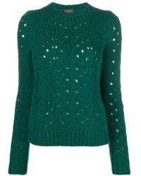 Roberto Collina - Perforated Jumper - Lyst