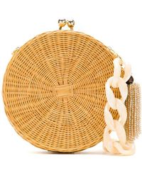 Serpui - Circle Wicker Bag - Lyst