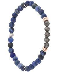 Tateossian Stonehenge Bracelet - Blue
