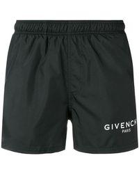 Givenchy - Short de bain à patch logo - Lyst