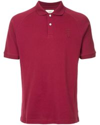 Kent & Curwen - Logo Embroidered Polo Shirt - Lyst