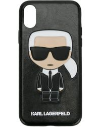 Karl Lagerfeld 'Karl Ikonik' iPhone X-Hülle