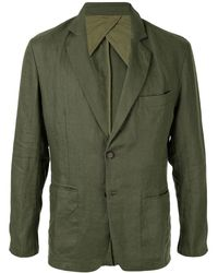 Venroy Fitted Crumpled Blazer