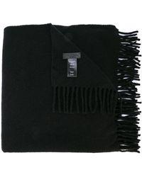 Rag & Bone フリンジ スカーフ - ブラック