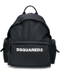 DSquared² Рюкзак С Логотипом - Черный