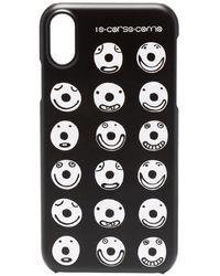 10 Corso Como Smiley iPhone X-Hülle - Schwarz
