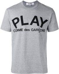 Play Comme des Garçons - Logo T-shirt - Lyst