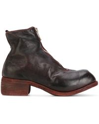 Guidi - Zip front boots - Lyst