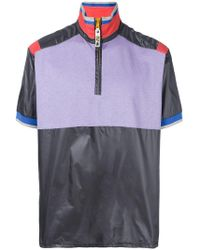 Lanvin - Colourblock Short Sleeve Pullover - Lyst