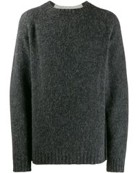 Loewe Oversized knitted sweater - Gris