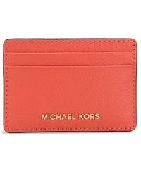 MICHAEL Michael Kors Картхолдер С Логотипом - Красный
