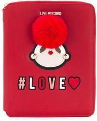 Love Moschino - Love Zipped Case - Lyst