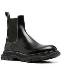 Alexander McQueen チェルシーブーツ - ブラック