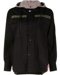 Izzue Prototype Shirt Jacket - Black