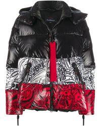 Peuterey Paneled Padded Jacket - Black