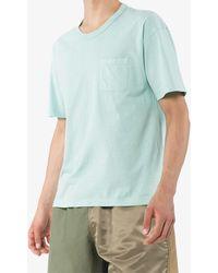 Visvim コットン Tシャツ - ブルー