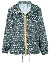 K-Way - Paulette Poly Jacket - Lyst