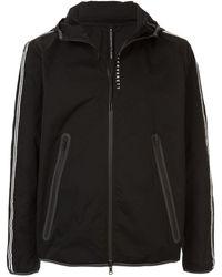 Neil Barrett - Logo-print Hoodedjacket - Lyst