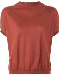 Marni - Short-sleeve Knitted Top - Lyst