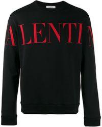 Valentino Sweater Met Print - Zwart