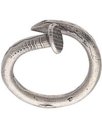 M. Cohen - Bended Nail Ring - Lyst
