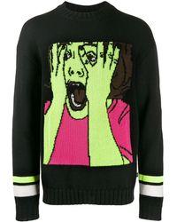 Marcelo Burlon Scream セーター - ブラック