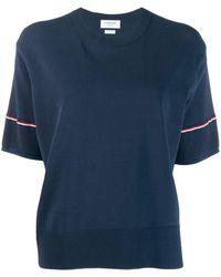 Thom Browne クルーネック Tシャツ - ブルー