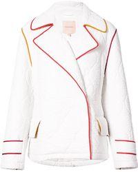 ROKSANDA Quilted Jacket - White