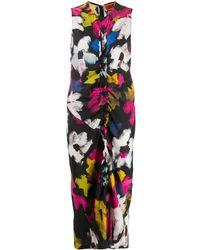 Colville Big Flower ドレス - ブラック