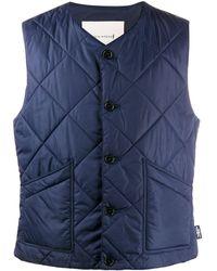 Mackintosh Hig Quilted Liner Vest - Blue