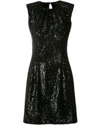 À La Garçonne Glow Short Dress - Black