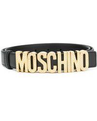 Moschino - ロゴバックル ベルト - Lyst