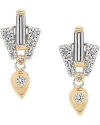 V Jewellery - Aida Earrings - Lyst