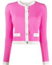 Liu Jo Cardigan in Colour-Block-Optik - Pink