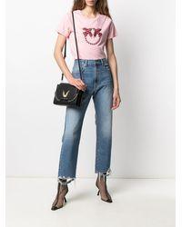 Pinko - ラインストーン Tシャツ - Lyst