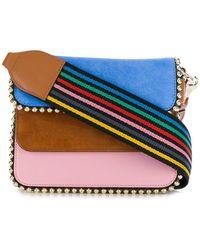 Les Petits Joueurs - Colour Block Mini Crossbody Bag - Lyst