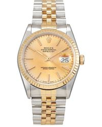 Rolex 1991 Pre-owned Datejust 36mm - Metallic